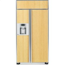 "GE Profile™ Series 42"" Built-In Side-by-Side Refrigerator"