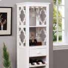 Akaska Wine Cabinet W/ Foldable Table Product Image