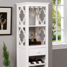Akaska Wine Cabinet W/ Foldable Table Product Image