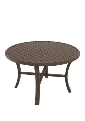 """Banchetto 48"""" Round KD Dining Umbrella Table"""