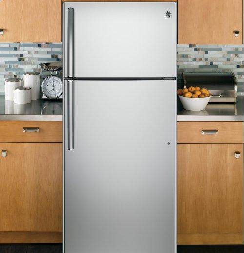 BLEMISH - GE® 15.5 Cu. Ft. Top-Freezer Refrigerator