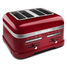 Pro Line® Series 4-Slice Automatic Toaster - Candy Apple Red