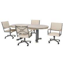 Table Base: Double Pedestal