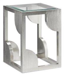 Morneau Silver Side Table