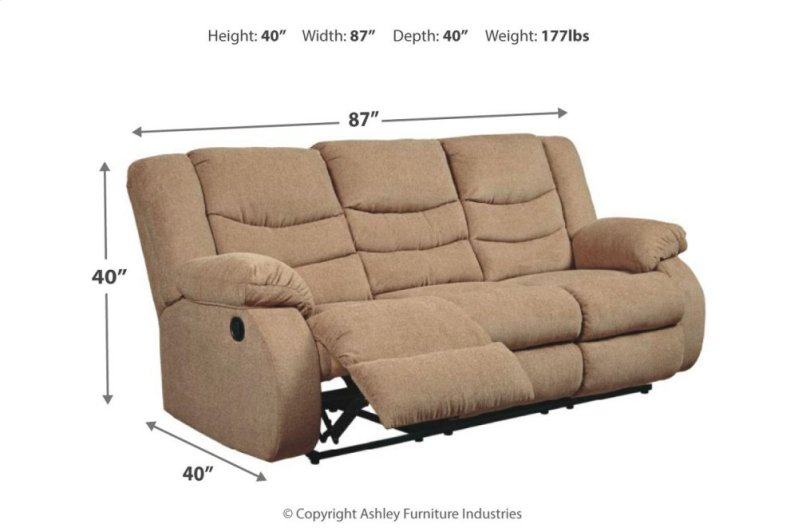 9860488 In By Ashley Furniture In Hopkinsville Ky Reclining Sofa