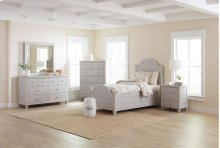 Chesapeake Dove Full Storage Bed