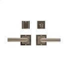 "Square Flute Entry Set - 3"" x 3"" Silicon Bronze Brushed with Basic Product Image"