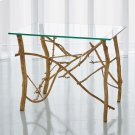 Twig End Table-Gold Leaf Product Image