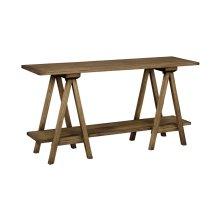 Local Harvest Plank Top Console Table