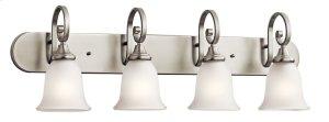 Monroe 4 Light Vanity Light Brushed Nickel