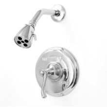Pressure Balance Shower Set with Charlotte Elite Handle (available as trim only)