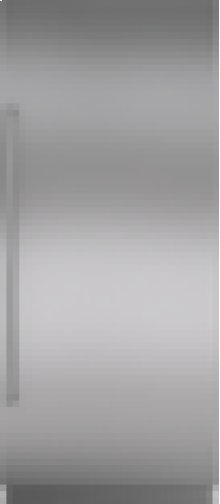 "Integrated Stainless Steel 36"" Column Door Panel with Pro Handle - Right Hinge"
