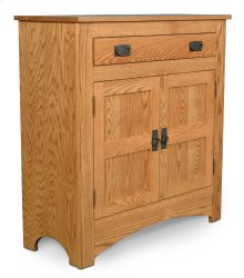 Prairie Mission 1-Drawer Cabinet