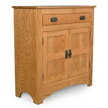Prairie Mission 1-Drawer Cabinet