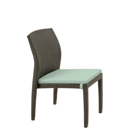 Evo Woven Side Chair with Seat Pad