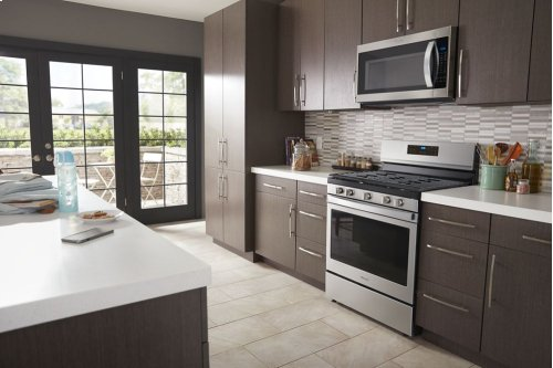 5.0 cu. ft. Freestanding Gas Range with Fan Convection Cooking