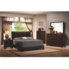 Conner Casual Dark Brown Queen Bed