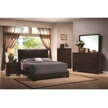 Conner Casual Dark Brown Queen Bed