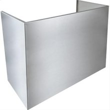 "18"" Flue Cover for 9' Ceiling - Standard Depth"