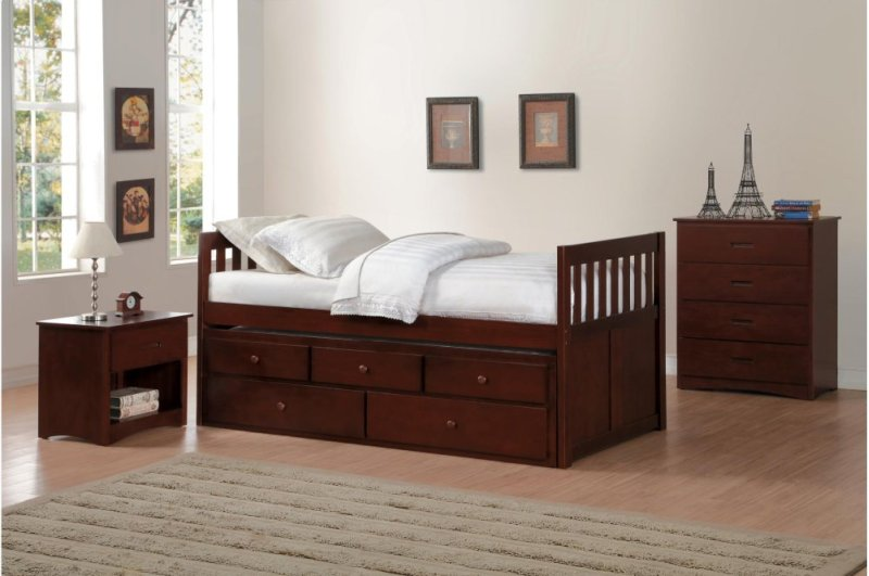 B2013prdc1 In By Homelegance In Orange Ca Twintwin Trundle Bed