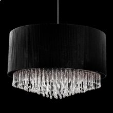 12-LIGHT PENDANT - Black
