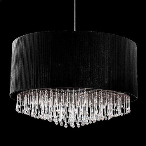 12-LIGHT PENDANT - Black