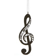 Piano Treble Clef Note Ornament.