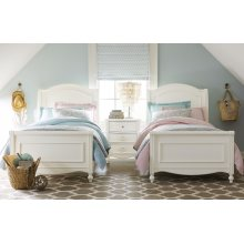 Harmony by Wendy Bellissimo Chelsea Sleigh Bed Twin