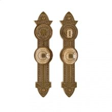 """Briggs Entry Set - 3"""" x 13"""" Silicon Bronze Brushed"""