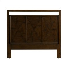 Light Brown Bamboo Queen Headboard