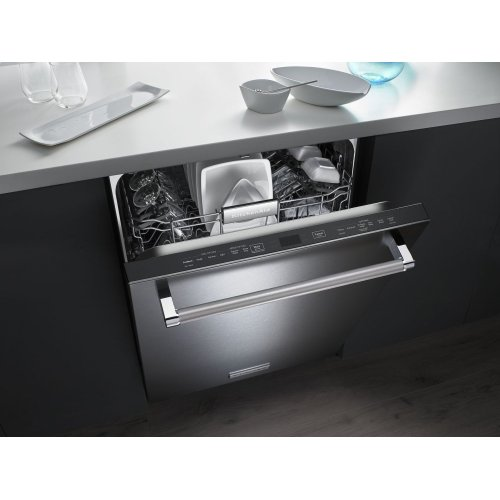 44 dBA Dishwasher with Clean Water Wash System - Stainless Steel