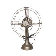 Metal Fan Table Lamp