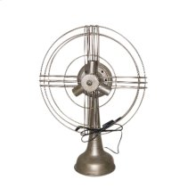 Metal Fan Table Lamp