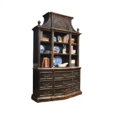 Small Palladian Bookcase with Art