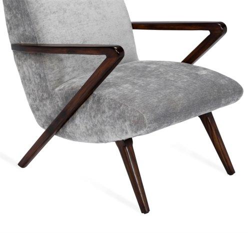Florin Lounge Chair - Grey