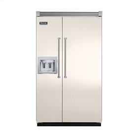"""Oyster Gray 48"""" Quiet Cool™ Side-by-Side with dispenser - VISB Tru-Flush™ (48"""" wide)"""
