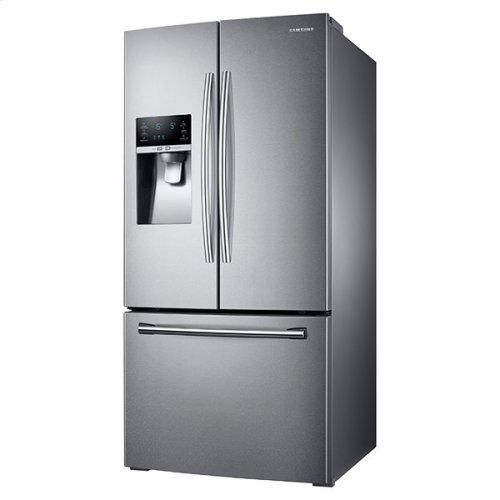 "33"" Wide, 26 cu. ft. Capacity 3-Door French Door Refrigerator with CoolSelect Pantry (Stainless Steel)"