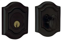 Satin Black Bethpage Deadbolt