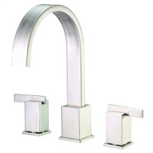 Brushed Nickel Sirius® Three Piece Roman Tub Trim Kit