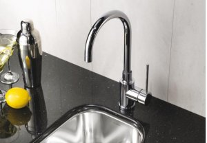 Blanco Meridian Bar Faucet - Satin Nickel