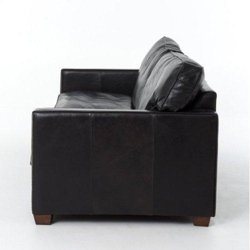 "88"" Size Rider Black Cover Larkin Sofa"