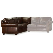 Bradington Young Sterling LAF Corner Return Sofa 8-Way Tie 221-93