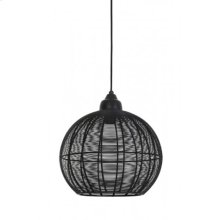 Hanging lamp 32x32,5 MILLA matt black