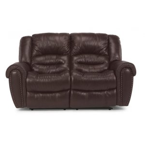 FLEXSTEELHOMECrosstown Leather Reclining Loveseat