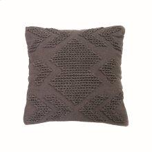 20X20 Hand Woven Nia Pillow Gray