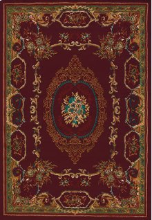 Manhattan Lexington Burgundy Rugs