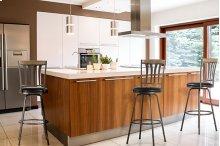 Darlington Adjustable Swivel Counter/bar Stool With Nested Leg - Set of 3 - Desert Tan Finished Wood