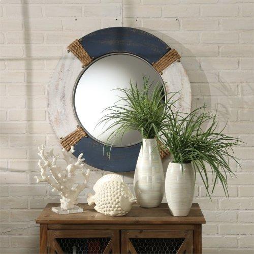 """Ceramic 12.5"""" Vase, Multi"""