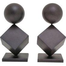 Astor Sculptural Bookends