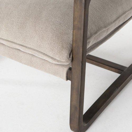 Cobblestone Jute Cover Ace Chair